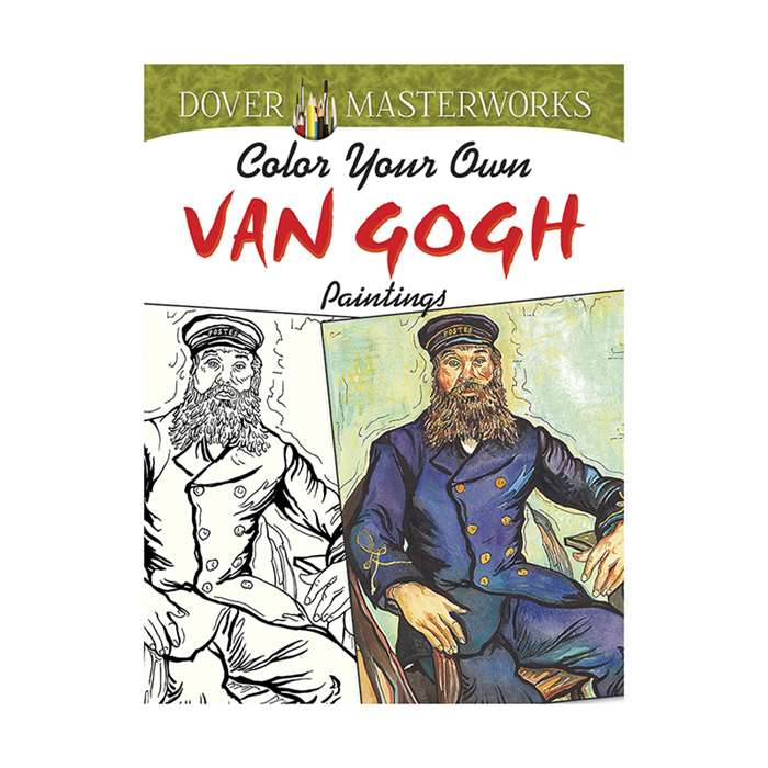Color Your Own Van Gogh Paintings Dover Masterwork, DP-779505