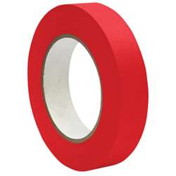 Premium Masking Tape Red 1X60Yd By Dss Distributing