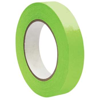 Premium Masking Tape Lt Green 1X60Y By Dss Distributing