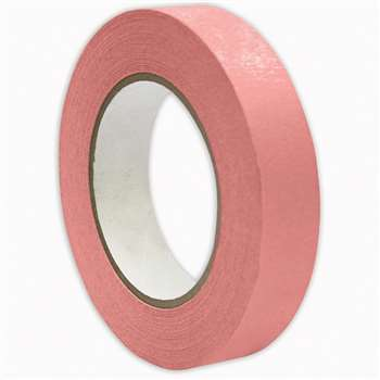 Premium Masking Tape Pink 1X60Yd By Dss Distributing
