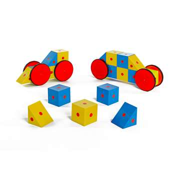 3-D Magnetic Blocks 20 Piece Set, EA-9