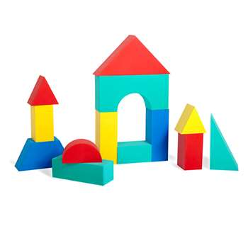 Giant Blocks 16/Pk 4-1/3 Thick By Edushape