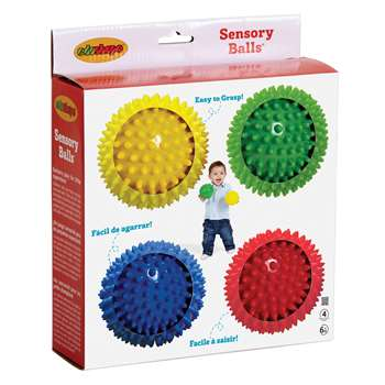 "Sensory Ball 4"" - Set Of 4 By Edushape"