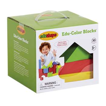 Educolor Blocks 30 Pcs By Edushape