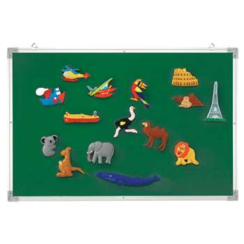 3-In-1 Flannel/Magnetic/Wipe-Off Board By Educational Insights