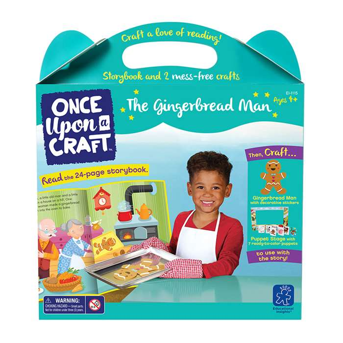 Once Upon A Craft The Gingerbread Man, EI-1115