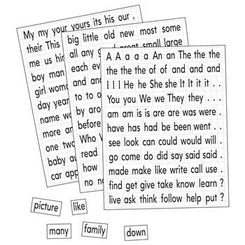 Magnetic Sight Words & Sentence Builders By Educational Insights