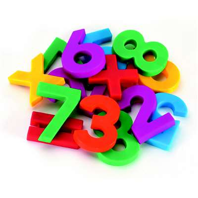 Alpha & Mathmagnets 126 Pieces Color Coded By Educational Insights