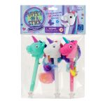 Rainbow Prancers Puppet On A Stick Markers 3 Pk, EI-1721