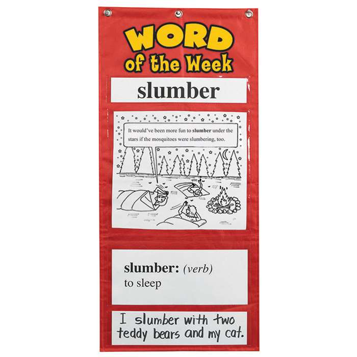 Word Of The Week Gr 3-4 By Educational Insights