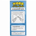Word Of The Week Gr 5-6 By Educational Insights