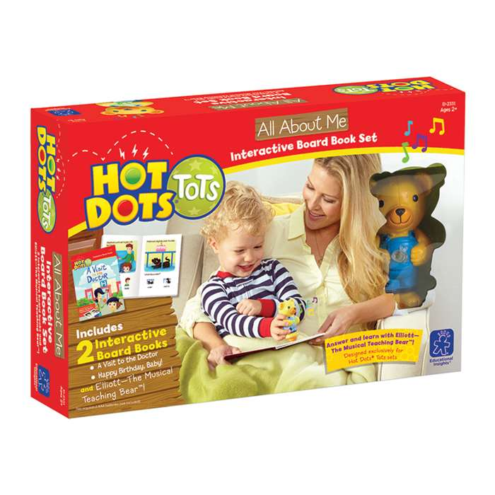 Hot Dots Tots All About Me, EI-2331