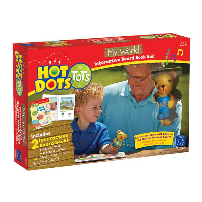 Hot Dots Tots My World, EI-2333