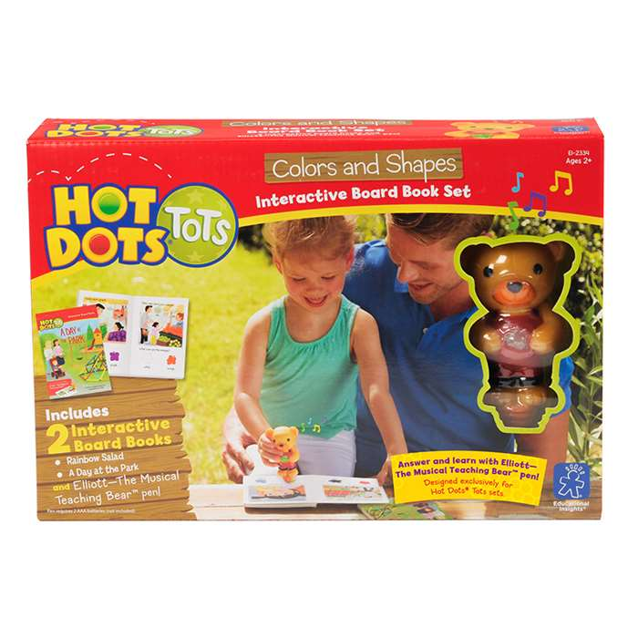 Hot Dots Tots Colors And Shapes Interactive Board , EI-2334