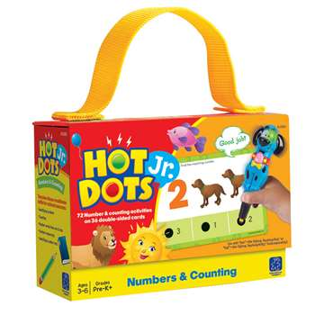 Hot Dots Jr Cards Numbers Counting By Educational Insights