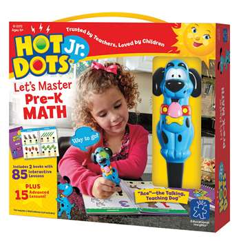 Hot Dots Jr Lets Master Math Gr Pk, EI-2372