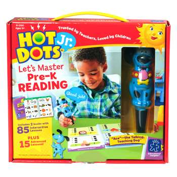 Hot Dots Jr Lets Master Reading Gr Pk, EI-2390