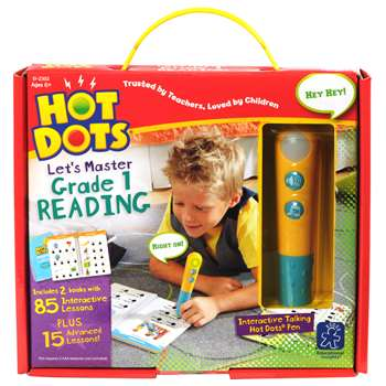 Hot Dots Jr Lets Master Reading Gr 1, EI-2392