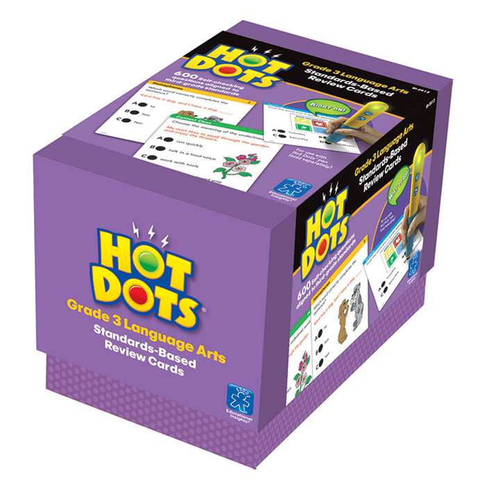 Hot Dots Standards Based Language Arts 3 By Educational Insights