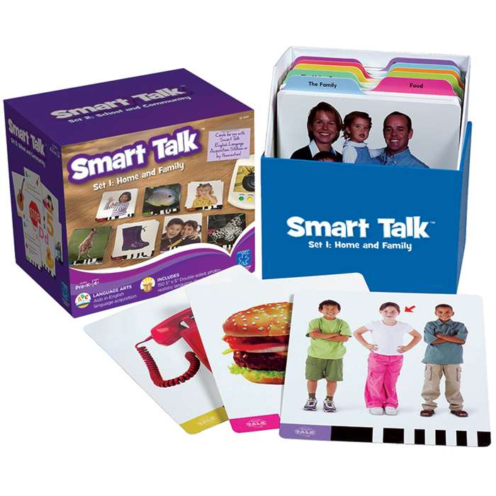 Smart Talk Card Set 1 Home & Family By Educational Insights