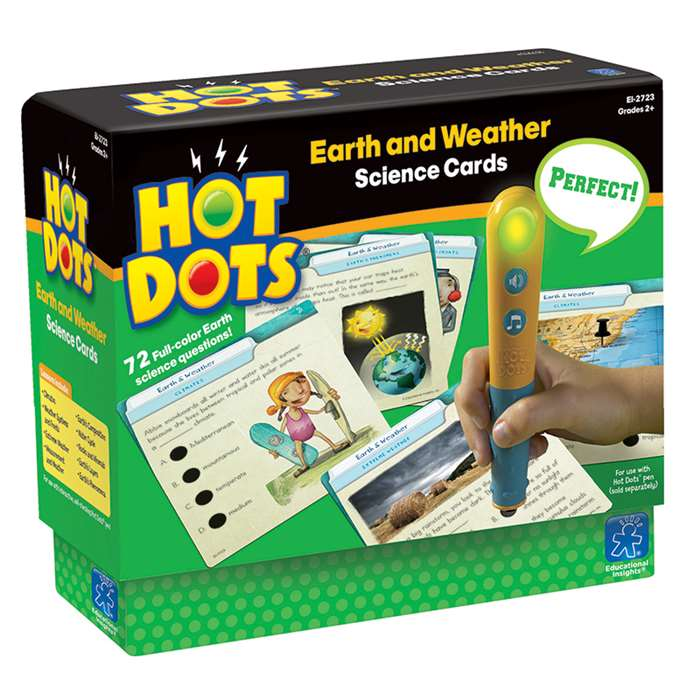 Hot Dots Science Set Earth & Weather By Educational Insights