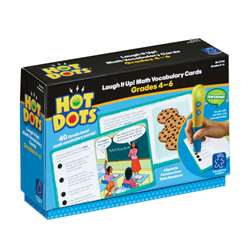Shop Gr 4-6 Hot Dots Laugh It Up Math Vocabulary - Ei-2743 By Educational Insights