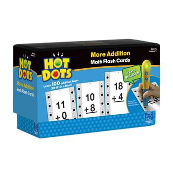 Hot Dots More Addition Facts 10-19 By Educational Insights