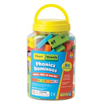 Phonics Dominoes Short Vowels By Educational Insights