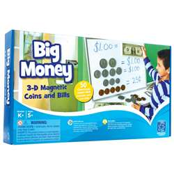 Big Money Magnetic Coins And Bills By Educational Insights