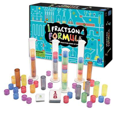 Fraction Formula Game By Educational Insights