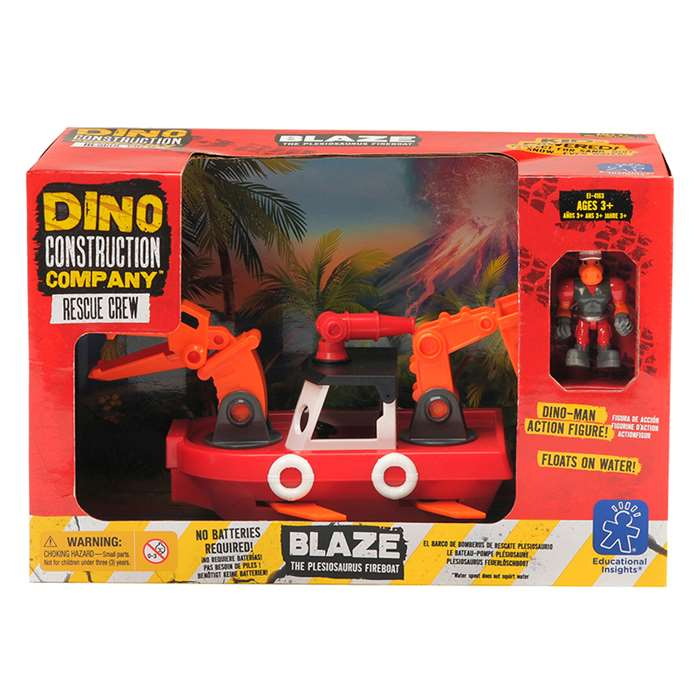 Dino Construction Co Rescue Crew Blaze The Plesios, EI-4163