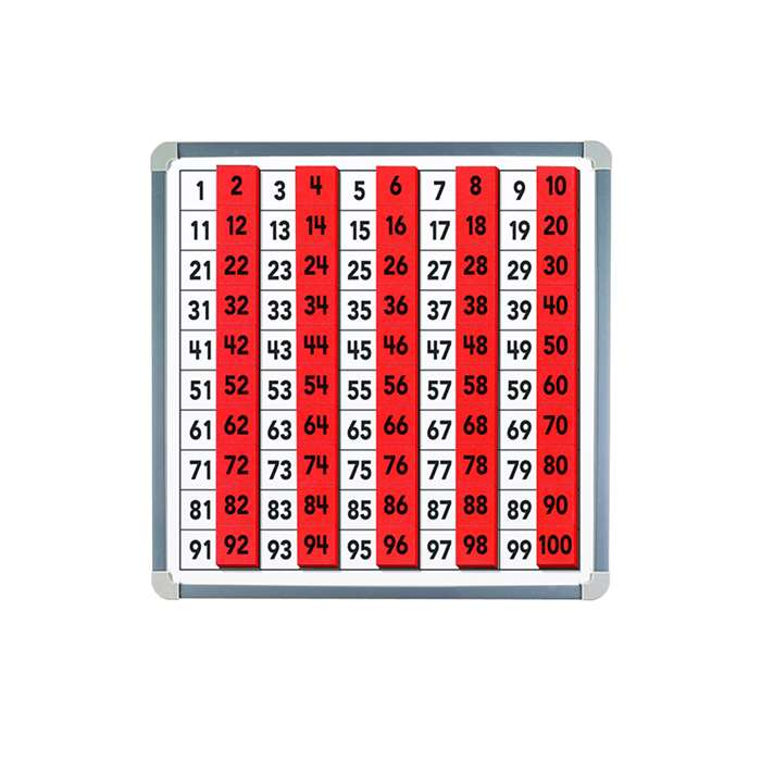 Magnetic 100 Board & Tiles By Educational Insights
