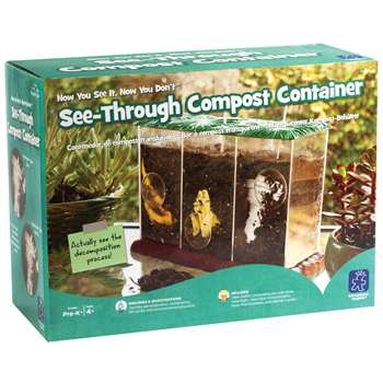 Now You See It Now You Dont See Through Compost Container By Educational Insights