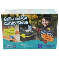 Lets Pretend Grill & Go Camp Stove By Educational Insights