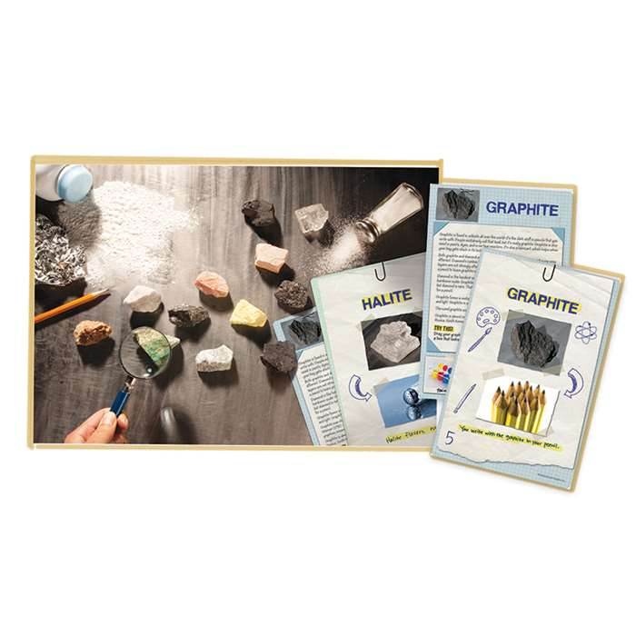 Everyday Uses Rock & Card Set By Educational Insights