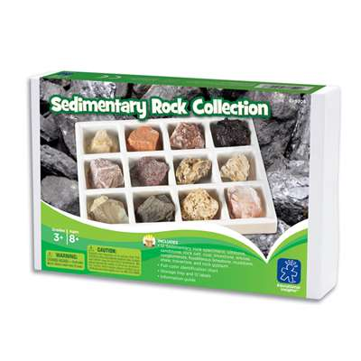 Sedimentary Rock Collection By Educational Insights