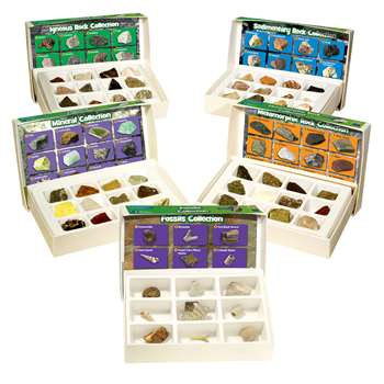 Rock Mineral & Fossils Complete Collection By Educational Insights