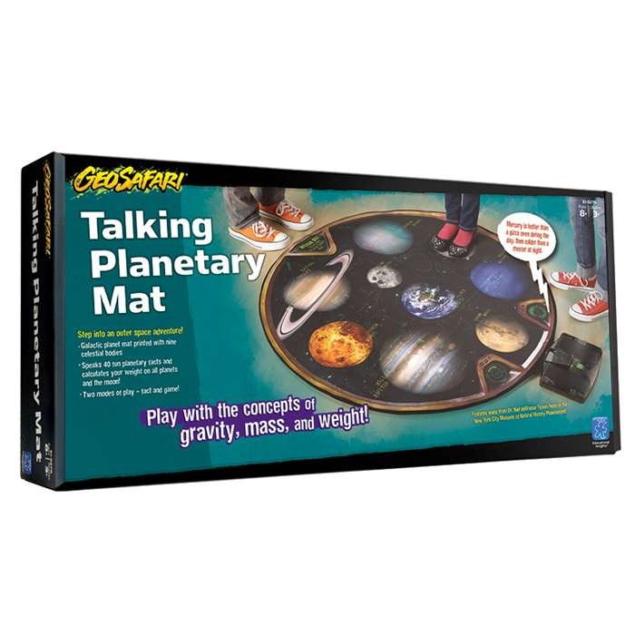 Weigh Out Talking Planetary Mat By Educational Insights