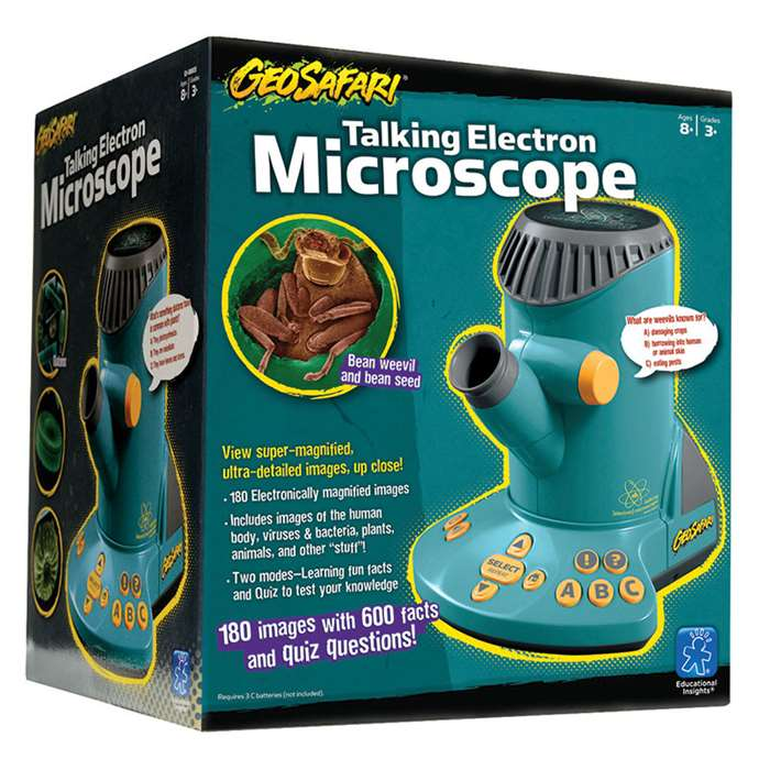 Geosafari Talking Electron Microscope By Educational Insights