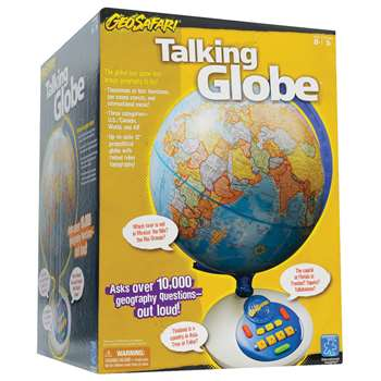 Geosafari Talking Globe Newer By Educational Insights