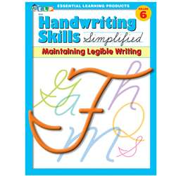 Handwriting Skills Simplified Main By Essential Learning Products