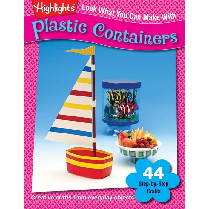 Look What You Can Make With Plastic Containers By Essential Learning Products