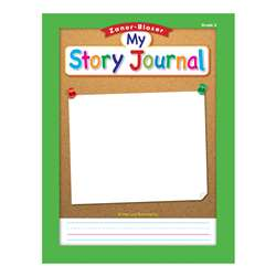"Zaner Bloser Story Journal Gr 2 1/2"" Ruling, ELP311845"