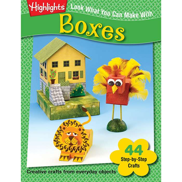 Look What You Can Make With Boxes By Essential Learning Products