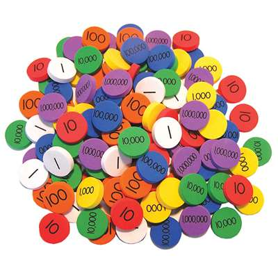 Place Value Disks Gr 3-6 By Essential Learning Products