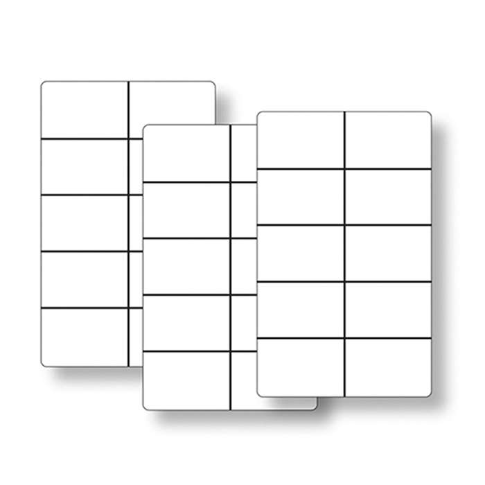 Ten Frame Cards Classroom Set By Essential Learning Products