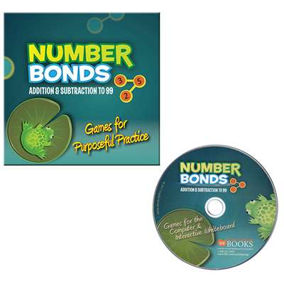 Number Bonds Addition & Subtraction To 99 Cd Rom By Essential Learning Products