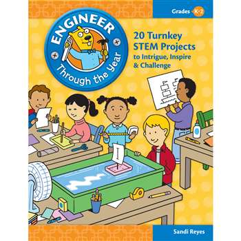 Engineer Through The Year Gr K-2 By Essential Learning Products