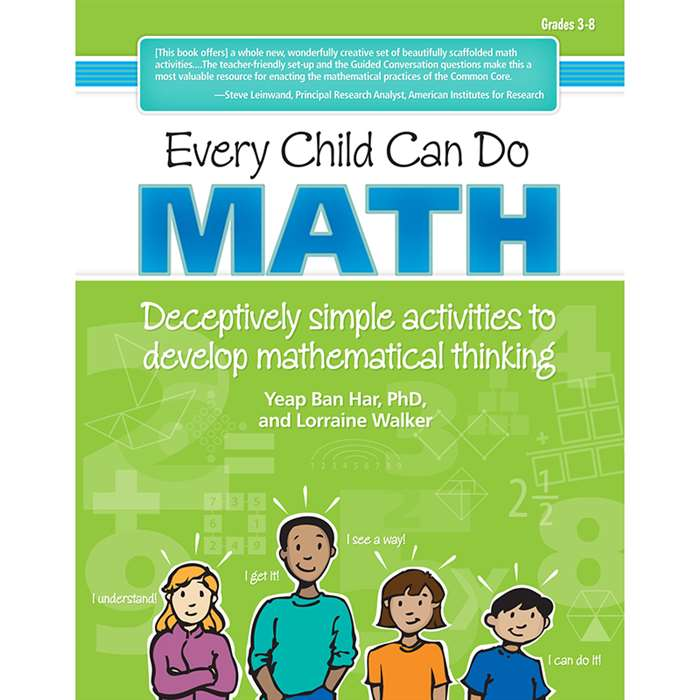 Every Child Can Do Math Deceptive Simple Activities To Develop Math By Essential Learning Products