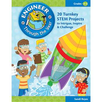 Engineer Through The Year Gr 3-5 By Essential Learning Products